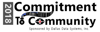 Dallas Data Systems Inc., - Commitment to Community Logo