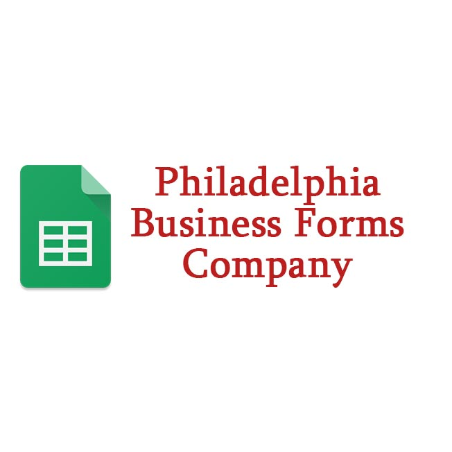 Philadelphia Business Forms